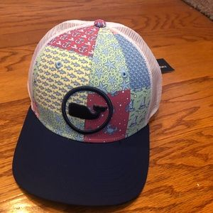 NWT Vinyard Vines Patchwork Truck Hat